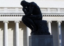 The Thinker by Rodin, Photo by Baylan Megino