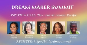 Dream Maker Summit Preview Call #DMS2017